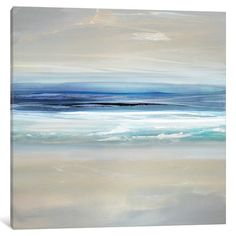 """East Urban Home 'Sway II' Painting Print on Wrapped Canvas Size: 37"""" H x 37"""" W x 0.75"""" D"""