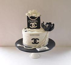 Elegant Birthday Cakes, Beautiful Birthday Cakes, Birthday Cakes For Men, Gift Box Cakes, Gift Cake, Channel Cake, Jordan Cake, Chanel Party, Luxury Cake