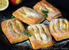 Serowe bułeczki z jabłkami