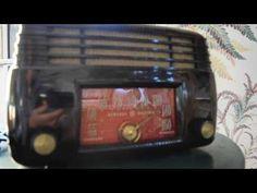*American*Radio*Design* - Greg Mercurio - Deco-Mid Century, Retro Styled Vintage Tube Radios   : General Electric Six Tube Radio (1946) Looks Swell...