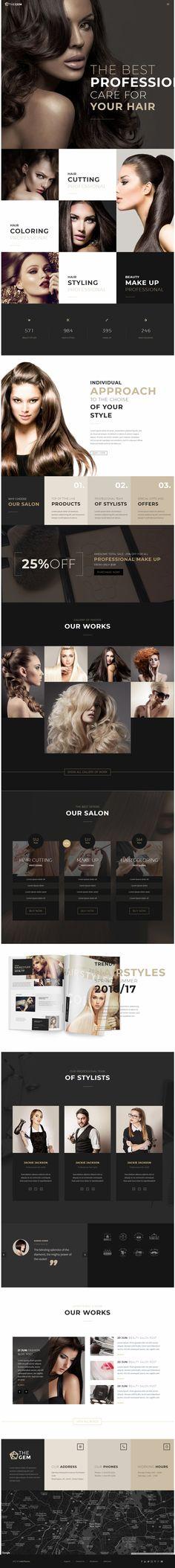 Hairdressing & Makeup / Тема сайта макияж и Парикмахерская #wordpress #wordpressthemes #wordpressblog #вордпресс #template