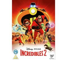 Incredibles 2 Blu-ray DVD Disney Pixar 2018 Piranha Records for sale online Disney Incredibles, Disney Pixar, Incredibles 2 Poster, Disney Dvd, Walt Disney, Disney Movies, Disney Family, Family Movie Reviews, Family Movies