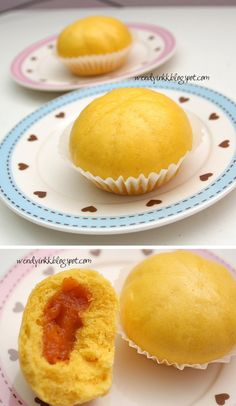 I made my first batch of these using the same recipe from the same food magazine of those not so tender steamed banana cakes . I want to gi...