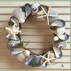 I'll bet I could do this.  It looks to be using a grapevine wreath backing.  It's just lovely.