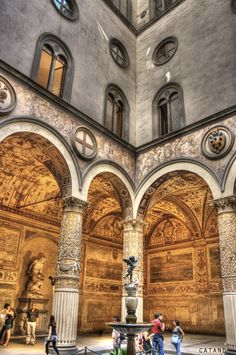 Palazzo Vecchio, Firenze. Italy