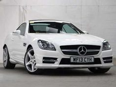 Used 2013 (13 reg) White Mercedes-Benz SLK SLK 250 CDI BlueEFFICIENCY AMG Sport 2dr Tip Auto for sale on RAC Cars