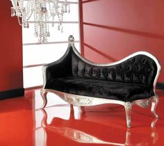 I am in love with the shape of this Chaise Lounge...absolutely gorgeous!