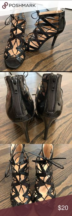 Sassy Lace-up Prabal Gurung Heels, Size 8 👠 Sassy Lace-up Prabal Gurung Heels, Size 8 👠  Perfect for a night out on the town or prom!! Excellent condition, only worn a handful of times. Prabal Gurung Shoes Heels