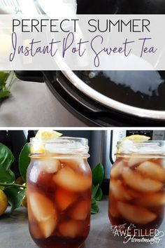 Living in the South Sweet Tea is just a part of our everyday lives! Everywhere you go there is good ole fashioned Sweet Tea to drink. So I just had to try my hand at fixing Sweet Tea in the instant pot. It is super easy and delicious! #Tea #InstantPot #PressureCooker #SweetTea #SouthernCooking via @AFHomemaker