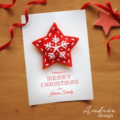 Christmas Card  Instant DOWNLOAD  EDITABLE by AndreeDesignStudio Christmas Cards, Christmas Ornaments, Holiday Decor, Unique Jewelry, Handmade Gifts, How To Make, Etsy, Design, Christmas E Cards