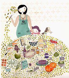 Algunas ilustraciones bellas | Kireei, cosas bellas