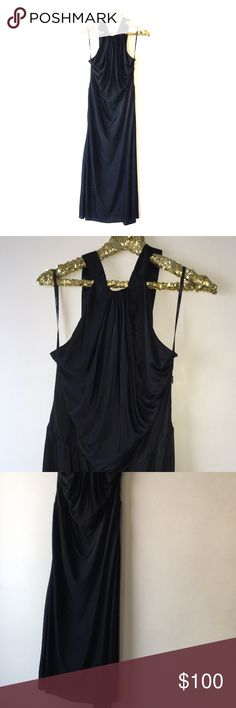 Brand new Calvin Klein Collection evening gown Brand new Unworn. Unwashed Size 12 (48) Black viscose dress Evening gown Side Zip Made in Italy Calvin Klein Collection Dresses Maxi
