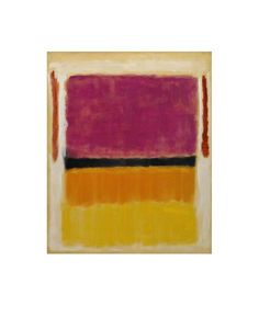 Mark Rothko - Untitled (Violet, Black, Orange, Yellow on White and Red), 1949 - Art Prints and Posters
