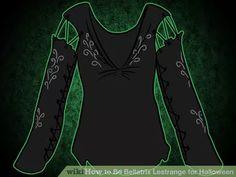 Image titled Be Bellatrix Lestrange for Halloween Step 3