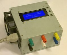 Convert power supply into bench power supply that shows current