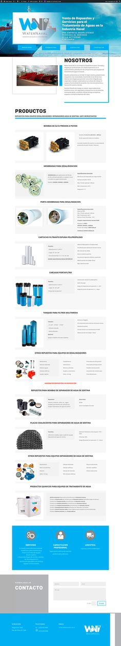 Sitio realizado en Wordpress Wordpress, Water, Web Design, Water Water, Aqua