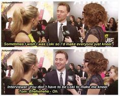 Poor tom, doesnt know. Lol