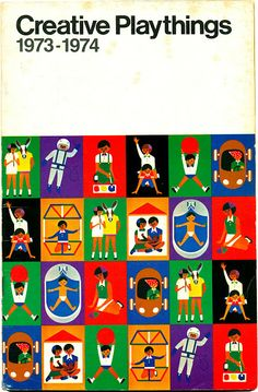 The 1973-1974 Creative Playthings catalogue of educational and abstract toys.
