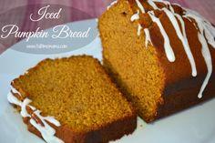 Iced Pumpkin Bread1