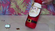 Reciclado!!!! Susana  nos enseña un Papa Noel reciclando una botella !!!