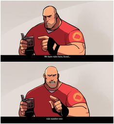 Hm arm hug by Konniwa on DeviantArt Team Fortress 2 Heavy, Tf2 Funny, Tf2 Memes, Team Fortess 2, Game Start, Drawing Reference Poses, Nerd Geek, Man In Love, Best Games