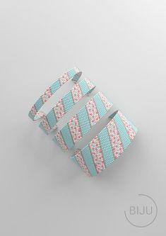 Loom Bracelet Patterns, Beaded Jewelry Patterns, Bead Loom Patterns, Peyote Patterns, Stitch Patterns, Peyote Bracelet, Beaded Bracelets, Square, Peyote Stitch