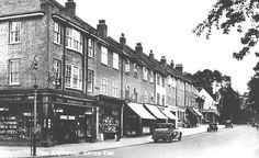 The Broadway, Hatch End Watford, Historical Photos, Cool Photos, Broadway, Buildings, Childhood, Street View, Shades, London