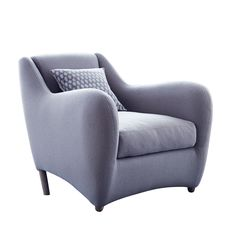 Balzac Chair In Bute Melrose Stone Fabric By Matthew Hilton | Chairs | Chairs & Stools | Furniture | Heal's