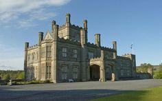 Site of the original McWhirter castle! Stunning Blairquhan Castle Ayshire Scotland