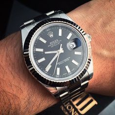 • #stylefromachitownerseye: The Distinctive Steel White Gold Rolex