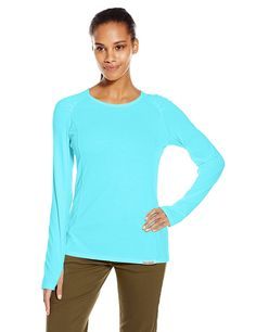 ExOfficio Women's BugsAway Lumen Long-Sleeve Shirt *** Review more details here : Camping clothes