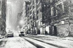 New York City - Snow - Winter Night | Flickr - Photo Sharing!