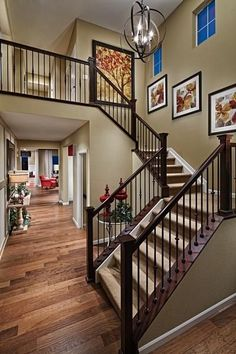 Choose from five distinctive floor plans, including a single-story ranch-style home and four spacious two-story residences. Living spaces range from to square feet, including 2 to 5 bedrooms and all of the two-story homes feature a three-car t Villa Plan, Style At Home, Home Renovation, Home Remodeling, Bedroom Remodeling, Tandem Garage, Staircase Remodel, Foyer Decorating, Decorating Ideas