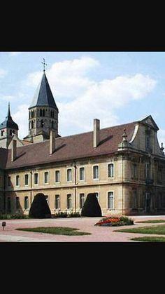 Monastero di Cluny, 909-1130, Borgogna Francia.