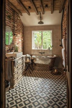 85 Modern Farmhouse Bathroom Design Ideas Source by Sweet Home, Modern Farmhouse Bathroom, Farmhouse Ideas, Beautiful Bathrooms, Bathroom Interior, Bathroom Ideas, Bathroom Renovations, Bathroom Inspiration, Design Case