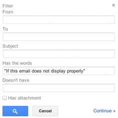 A nifty Gmail filter to banish all non-personal email from your inbox