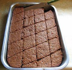 Feeling a little nostalgic, I asked my mom to share her Karydopita recipe with me. Karydopita is a Greek walnut cake but the amazing thing about this dessert is that there's no flour in it! Greek Sweets, Greek Desserts, No Cook Desserts, Greek Recipes, Pastry Recipes, Cake Recipes, Dessert Recipes, Cooking Recipes, Food Network Recipes