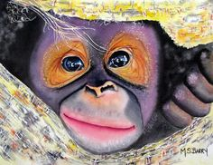 Peek A Boo by Maria Barry - Peek A Boo Painting - Peek A Boo Fine Art Prints and Posters for Sale
