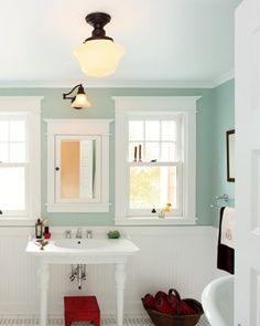 Seafoam bathroom for Seafoam green bathroom ideas