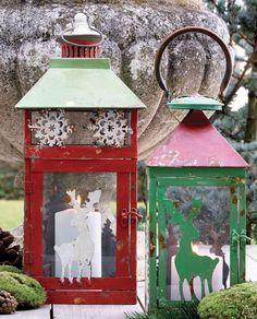 Heimelige Weihnachtslaternen von Greengate