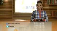 EL Reports is a news program that focuses on the positive news coming out of Africa.