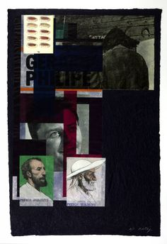 R.B. Kitaj 'French Subjects', 1974 © The estate of R. B. Kitaj