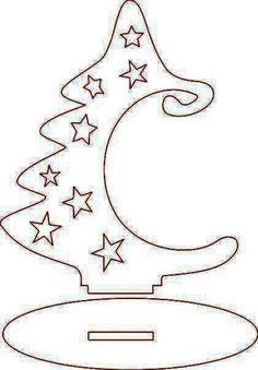 Scroll saw patterns 493847915386375203 Christmas Wood, Christmas Projects, Christmas Holidays, Christmas Ornaments, Wood Crafts, Paper Crafts, Diy Crafts, Diy Wood, Navidad Diy