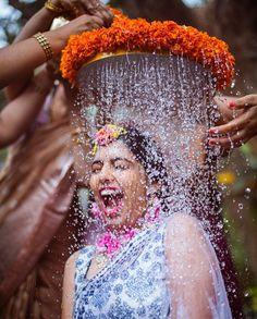 A beautiful bride enjoying her wedding rituals in Bangalore, India : HumanPorn Indian Wedding Photography Poses, Bride Photography, Indian Bride Poses, Photography Ideas, Indian Wedding Poses, Happy Photography, Indian Groom, Indian Weddings, Romantic Weddings