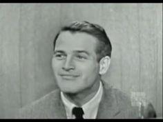 What's My Line? - Paul Newman; David Niven [panel] (Jan 25, 1959) - YouTube