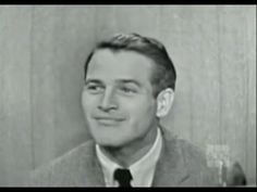 What's My Line? - Paul Newman; David Niven [panel] (Jan 25, 1959) - YouTube