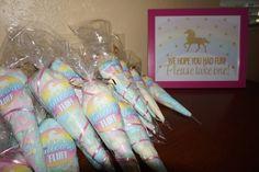 Unicorn fluff • unicorn party • rainbow unicorn birthday party