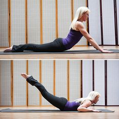 Pilates strength exercises that work a variety of muscle groups. Perfect for runners looking to work strength and flexibility.