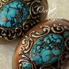 Egg Crafts, Easter Crafts, Egg Rock, Types Of Eggs, Egg Shell Art, Victorian Christmas Ornaments, Carved Eggs, Egg Designs, Wood Burning Art