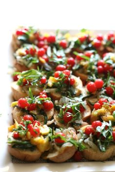 farm to table bruschetta — my.life.at.playtime.